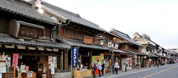 How Was the Famous Old Kura Street of KAWAGOE Made?